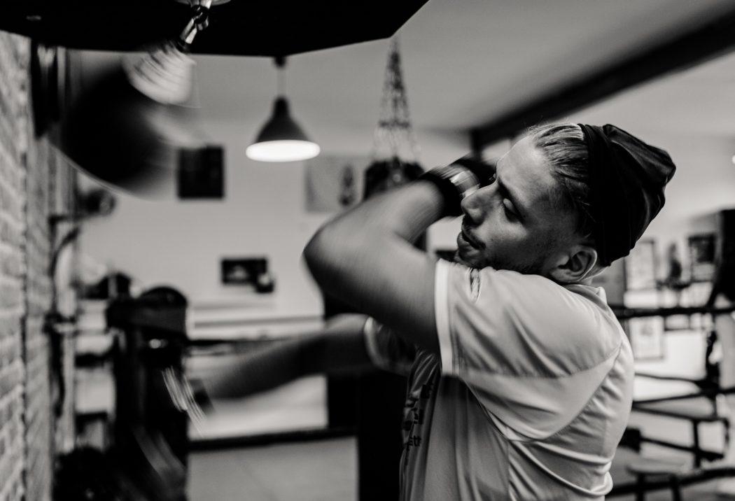 riverside boxing training man