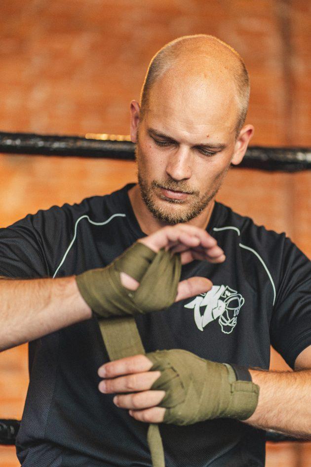 riverside boxing training young man