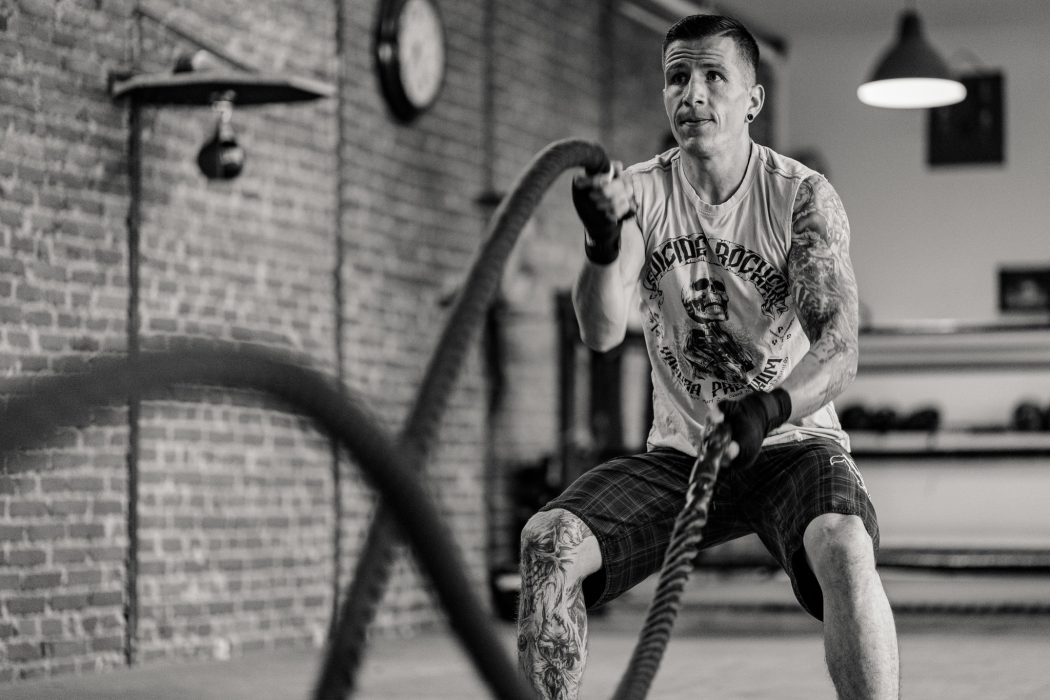 riverside boxing warmup heavy rope