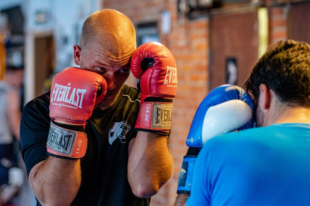 riverside boxing sparring