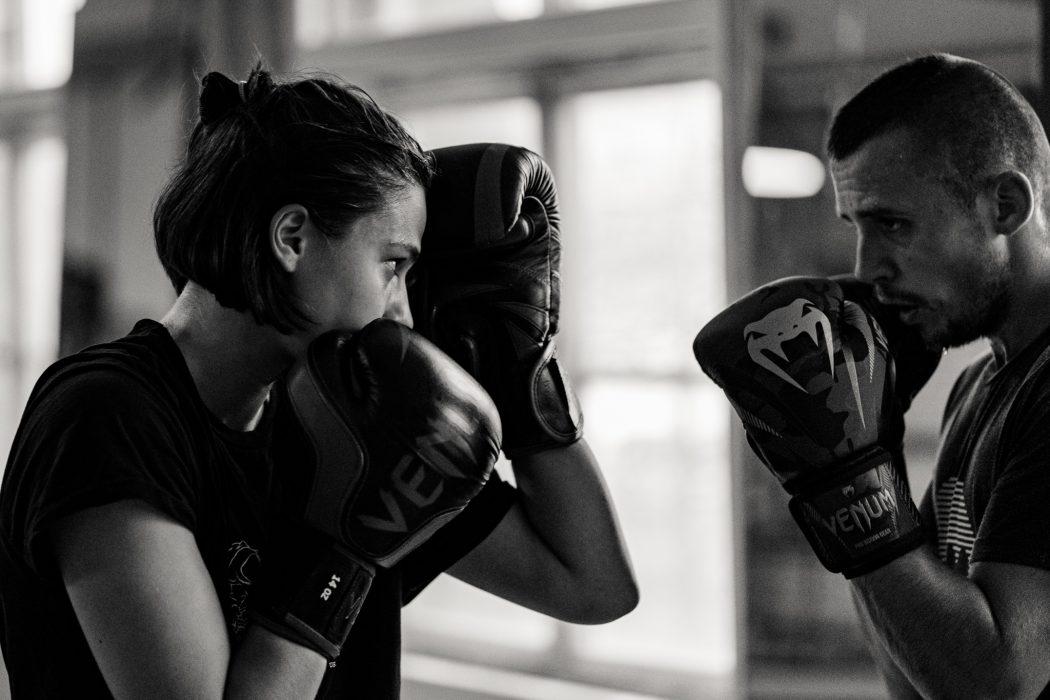 riverside boxing sparring man women