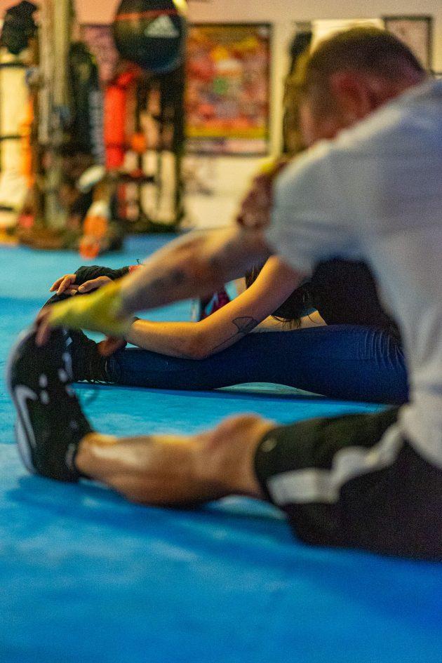 riverside boxing stretching